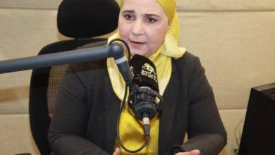 نيفين قباج وزيرة التضامن الاجتماعي