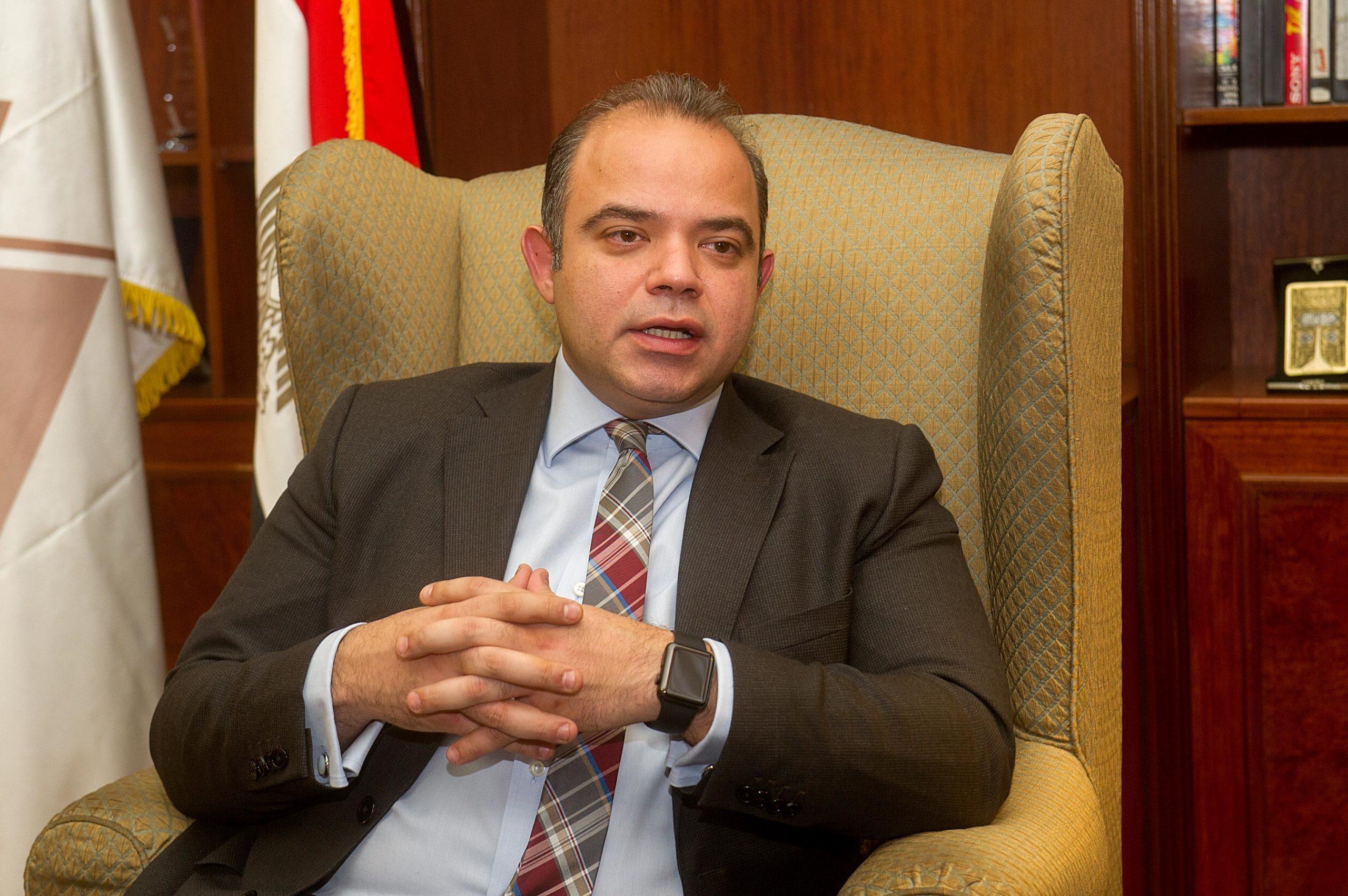 رئيس البورصة المصرية