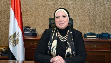 وزيرة الصناعة نيفين جامع