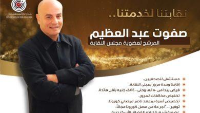 البرنامج الإنتخابي للكاتب الصحفى صفوت عبد العظيم المرشح لعضوية مجلس نقابة الصحفيين